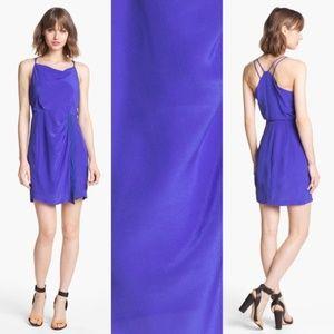 100% Silk Greylin 'Dahlia' Side Wrap New Dress,